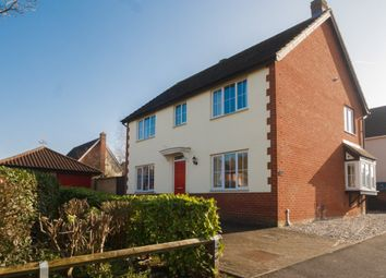 Thumbnail 4 bed detached house for sale in Cramswell Close, Haverhill