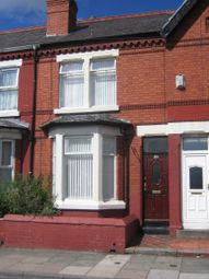 Thumbnail 3 bed terraced house to rent in Park Road, Wallasey
