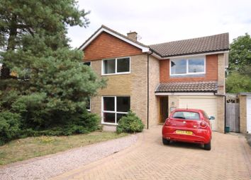 Thumbnail 4 bed detached house for sale in Vincent Close, Fetcham, Leatherhead