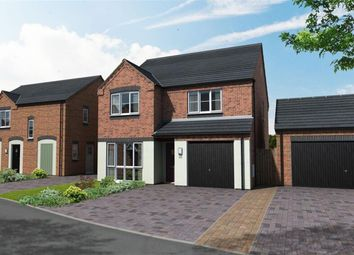Thumbnail 4 bed detached house for sale in Newton Lane, Austrey, Atherstone