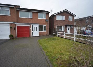 Thumbnail 3 bed semi-detached house for sale in Bracken Way, Barnton, Northwich