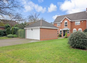 Thumbnail 4 bed detached house for sale in Chilwell Close, Hillfield, Solihull