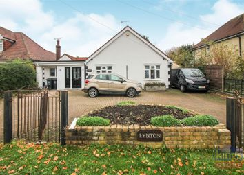Thumbnail 3 bed bungalow for sale in Epping Road, Roydon, Harlow