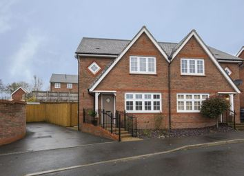 Thumbnail 3 bed semi-detached house for sale in Kingfisher Way, Penallta, Hengoed