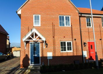 Thumbnail 3 bed semi-detached house for sale in Hyacinth Drive, Red Lodge, Bury St. Edmunds