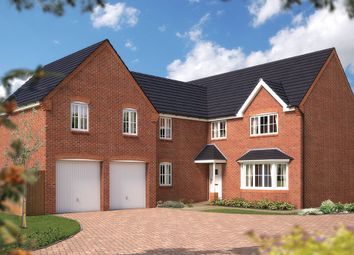 "Thumbnail 5 bed detached house for sale in ""The Birkenshaw"" at Bayswater Square, Stafford"