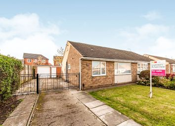 Thumbnail 2 bed semi-detached bungalow for sale in Burnaby Close, Hartlepool