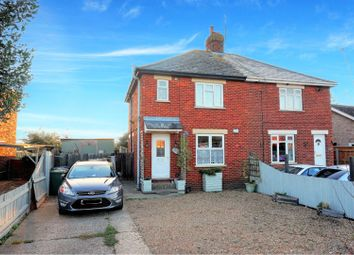 Thumbnail 3 bed semi-detached house for sale in Oilmills Road, Huntingdon