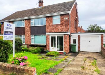 Thumbnail 3 bed semi-detached house for sale in Tunstall Road, Sunderland