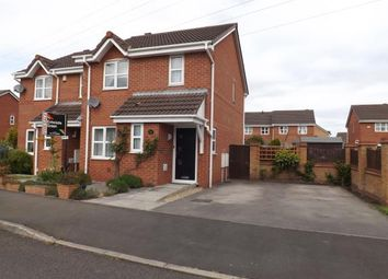 Thumbnail 3 bed semi-detached house for sale in Morley Croft, Farington Moss, Leyland