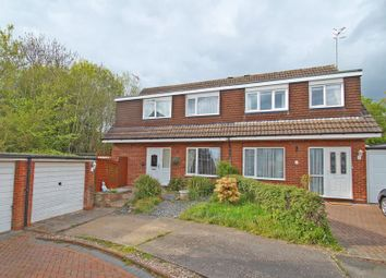 Thumbnail 3 bed semi-detached house for sale in Oakridge Close, Church Hill North, Redditch