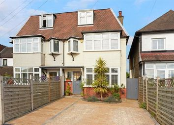 Thumbnail 4 bed semi-detached house for sale in Salisbury Road, Carshalton