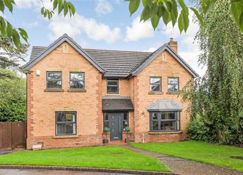 Thumbnail 4 bed detached house for sale in Queen Ethelburgas Gardens, Harrogate, North Yorkshire