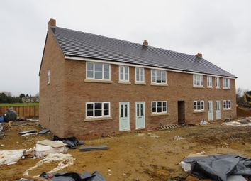 Thumbnail 2 bed end terrace house for sale in Sutton Road, Walpole Cross Keys, King's Lynn
