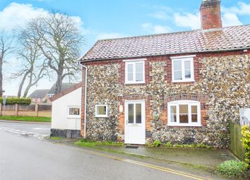 Thumbnail 2 bed semi-detached house for sale in Hargham Road, Attleborough
