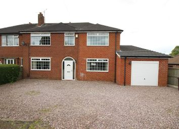 Thumbnail 4 bed semi-detached house for sale in Knypersley Road, Norton, Staffordshire