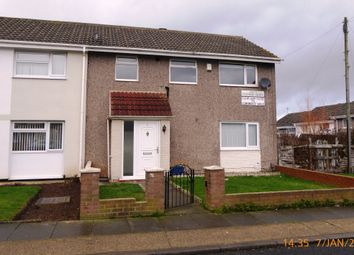 Thumbnail 4 bed end terrace house to rent in Cleatlam Close, Hardwick