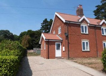 Thumbnail 3 bed semi-detached house to rent in Church Cottages, Brightwell, Ipswich