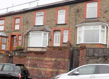 Thumbnail 3 bedroom terraced house for sale in Tynybedw Terrace, Treorchy, Rhondda Cynon Taff.