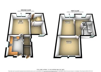 Thumbnail 3 bedroom semi-detached house to rent in Faughhill Farm Cottages, Melrose, Scottish Borders