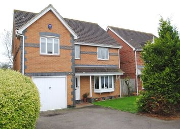 Thumbnail 4 bed detached house for sale in Poplar Close, South Ockendon, Essex