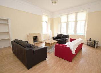 Thumbnail 3 bed flat to rent in Queen Margaret Drive, Glasgow