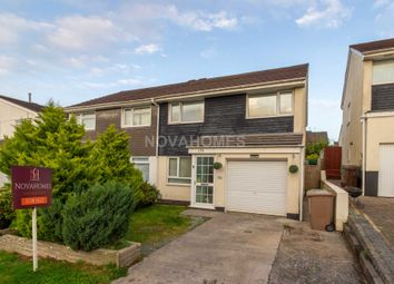 Thumbnail 3 bed semi-detached house for sale in Hemerdon Heights, Plympton