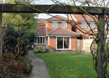 Thumbnail 3 bedroom detached house for sale in Serby Avenue, Royston
