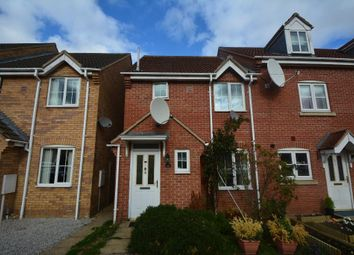 Thumbnail 3 bed end terrace house for sale in Juniper Crescent, Spalding
