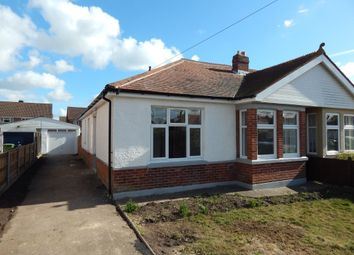 Thumbnail 3 bedroom semi-detached bungalow for sale in Carshalton Avenue, Drayton, Portsmouth
