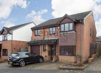Thumbnail 5 bed detached house for sale in Launton Close, Luton