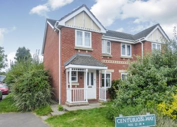 Thumbnail 3 bed semi-detached house for sale in Centurion Way, Credenhill, Hereford