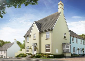 "Thumbnail 3 bed detached house for sale in ""Morpeth"" at Bevans Lane, Pontrhydyrun, Cwmbran"