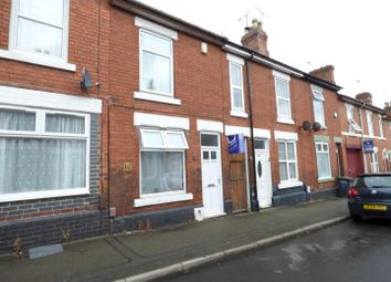 Thumbnail 2 bed terraced house for sale in Wild Street, Derby