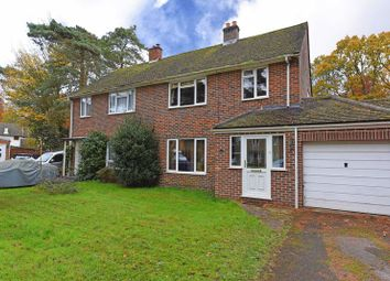 Thumbnail 3 bed semi-detached house for sale in Forest Close, Baughurst, Tadley