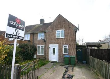 Thumbnail 3 bed end terrace house to rent in Aldermoor Avenue, Southampton