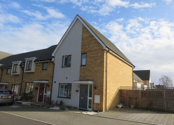 Thumbnail 3 bed end terrace house for sale in Bredle Way, Aveley