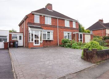 Thumbnail 3 bed semi-detached house for sale in Salters Road, Walsall