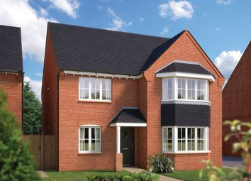 "Thumbnail 5 bed detached house for sale in ""The Oxford"" at Bayswater Square, Stafford"