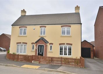 Thumbnail 4 bed detached house for sale in Golden Arrow Way, Brockworth, Gloucester