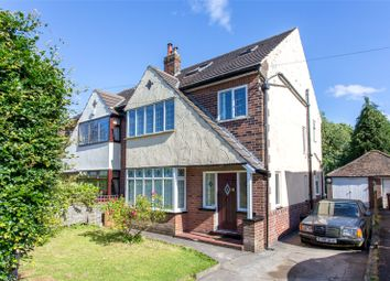 Thumbnail 5 bed semi-detached house for sale in Alwoodley Lane, Leeds, West Yorkshire