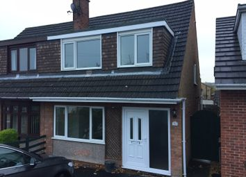 Thumbnail 3 bed semi-detached house to rent in Deerlands Road, Wingerworth, Chesterfield