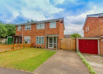 Thumbnail 3 bed semi-detached house for sale in Barnard Close, Leamington Spa
