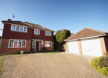 Thumbnail 4 bedroom detached house for sale in Four Acre Coppice, Hook