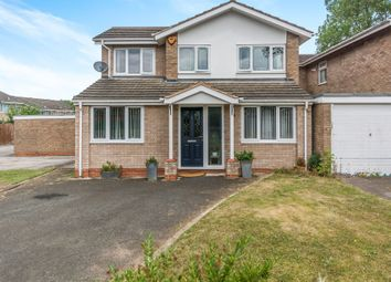 Thumbnail 4 bed link-detached house for sale in Kitwood Drive, Solihull