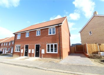 Thumbnail 3 bed semi-detached house for sale in St George's Park, George Lane, Loddon, Norwich