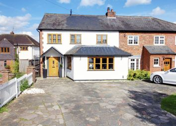 Thumbnail 4 bed semi-detached house for sale in Plough Hill, Cuffley, Potters Bar