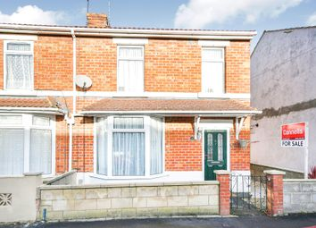 Thumbnail 3 bed end terrace house for sale in Norman Road, Swindon