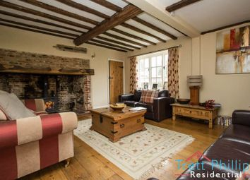 Thumbnail 4 bed farmhouse for sale in The Green, Old Buckenham, Attleborough