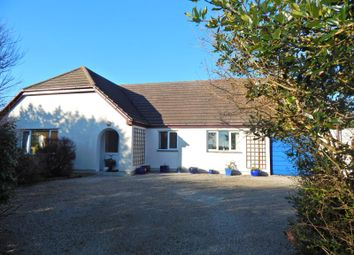 Thumbnail 6 bed detached bungalow for sale in The Links, Pengersick Lane, Praa Sands, Penzance